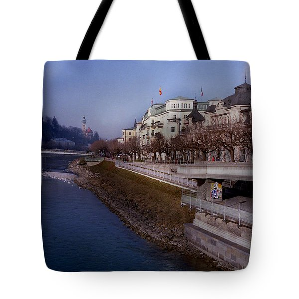 Blue Water Blue Sky Tote Bag