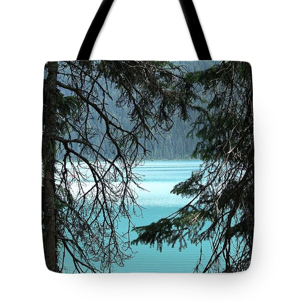 Blue Whisper Tote Bag