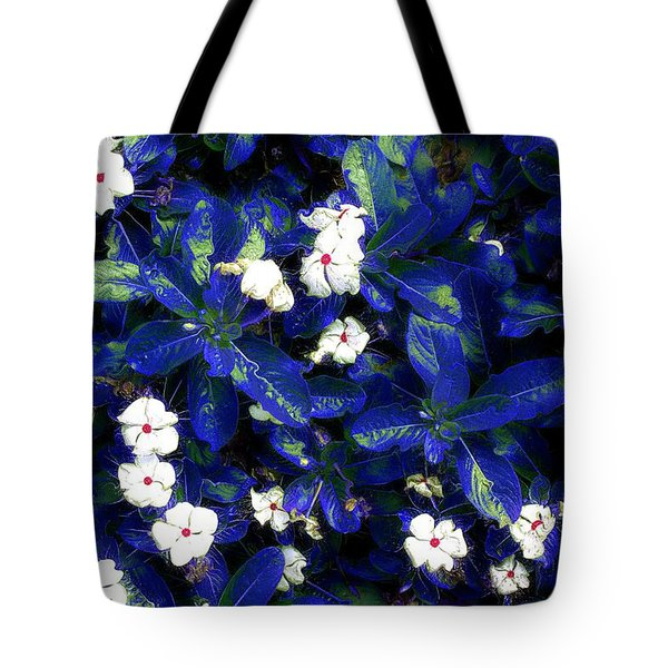 Blue White I Tote Bag by Terence Morrissey