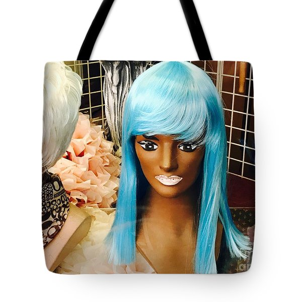 Blue Wilderness Tote Bag by Trish Hale