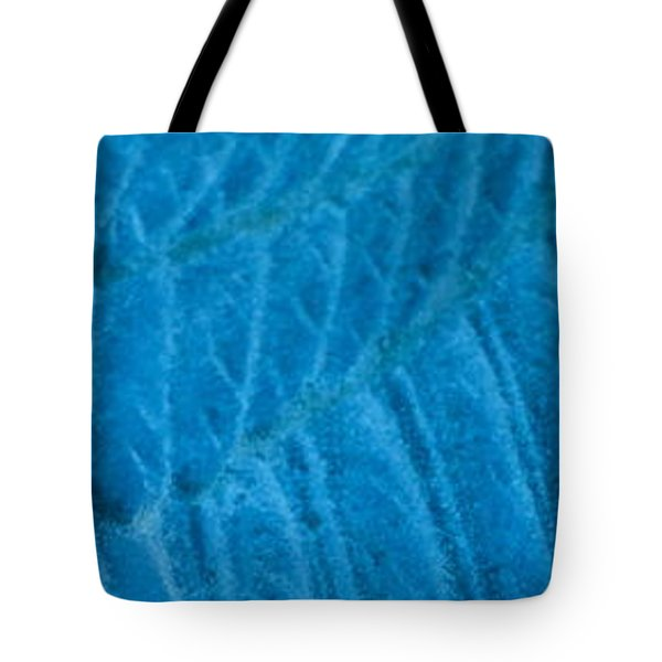 Blue Wing Tote Bag by Cathy Dee Janes