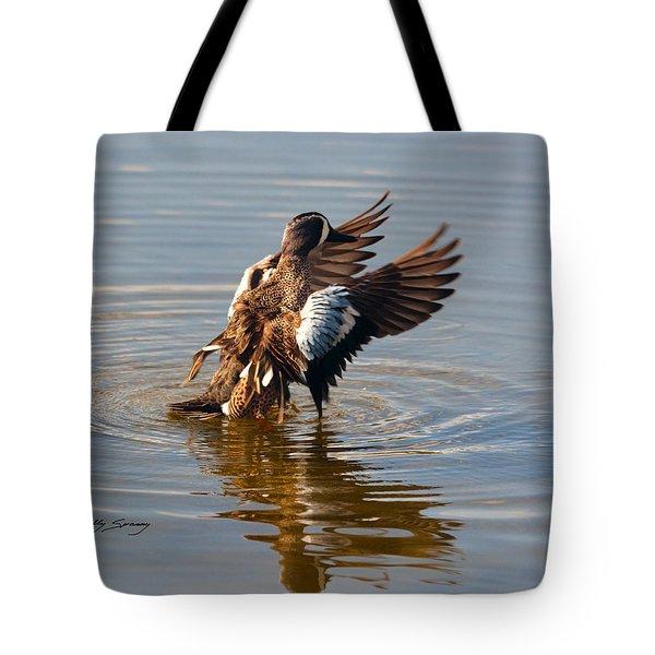 Blue Winged Teal 2 Tote Bag