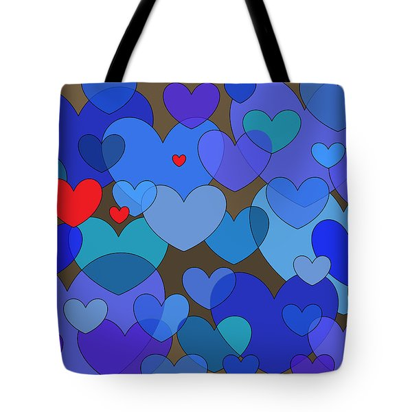 Blue Without You Tote Bag