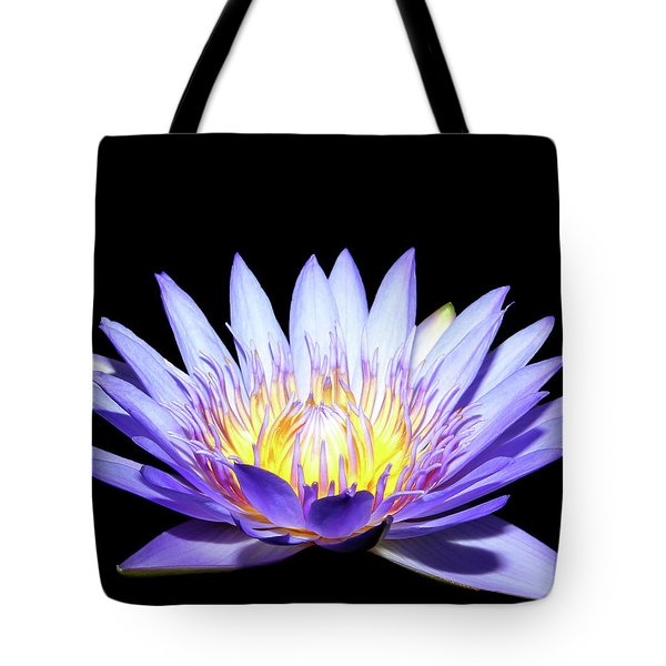 Tote Bag featuring the photograph Blue Wonder by Judy Vincent