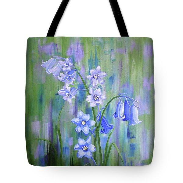 Bluebell Haze Tote Bag
