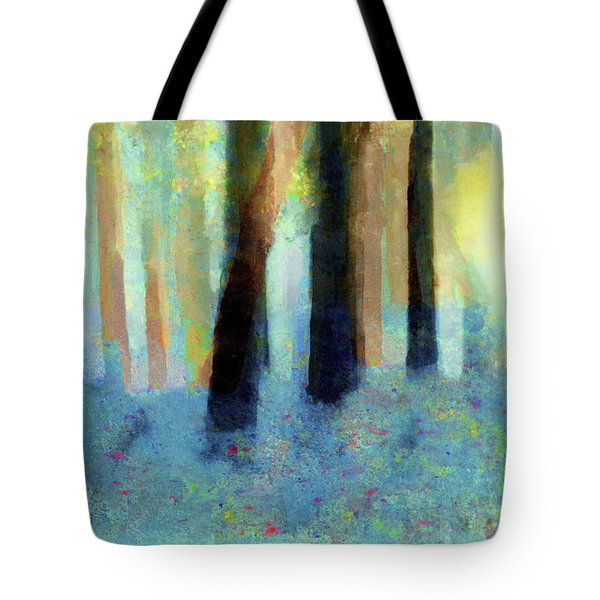 Bluebell Wood By V.kelly Tote Bag