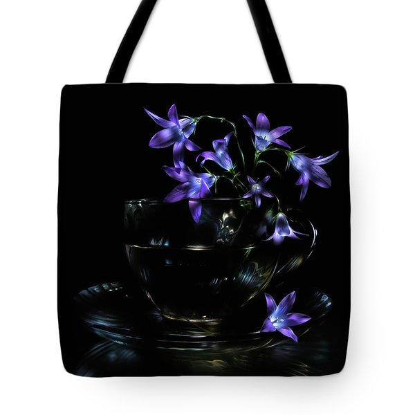 Tote Bag featuring the photograph Bluebells by Alexey Kljatov