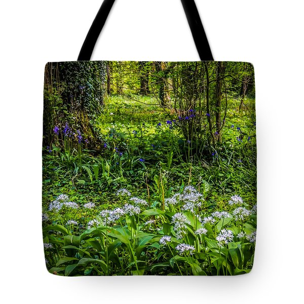 Bluebells And Wild Garlic At Coole Park Tote Bag