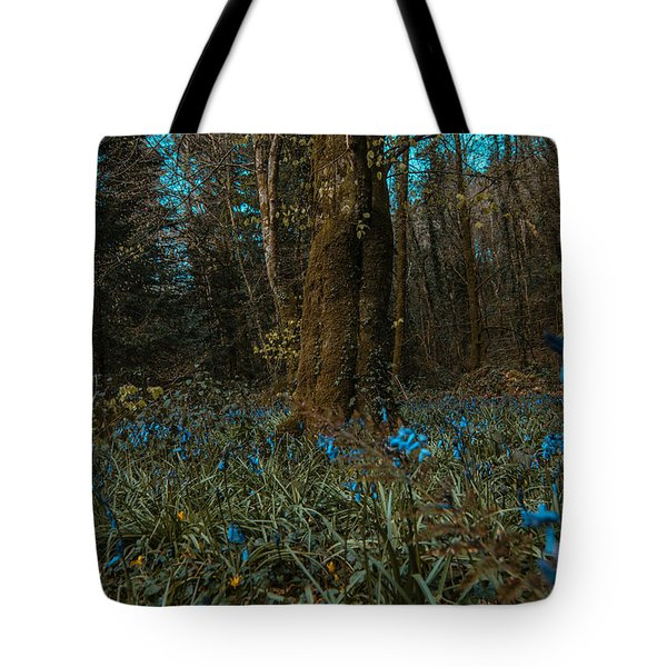 Bluebells In Lismore Forest 2 Tote Bag