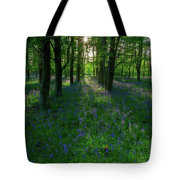Bluebells In Oxey Woods Tote Bag