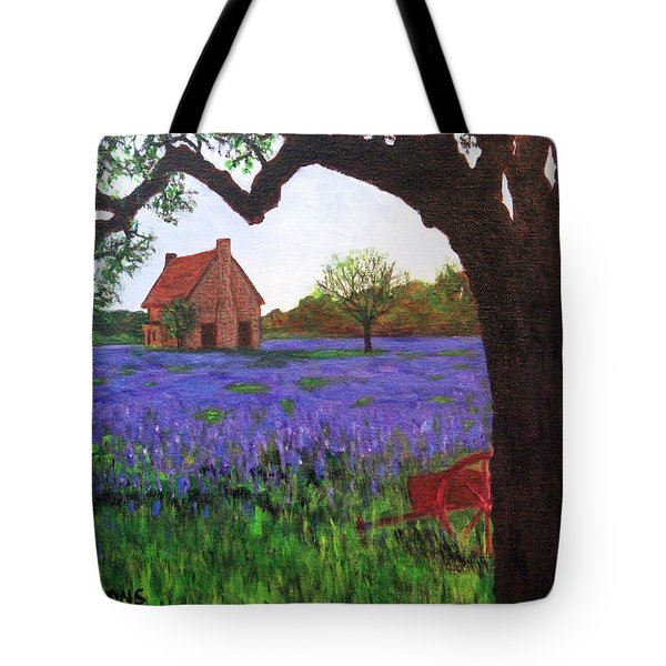 Bluebells Meadow Tote Bag