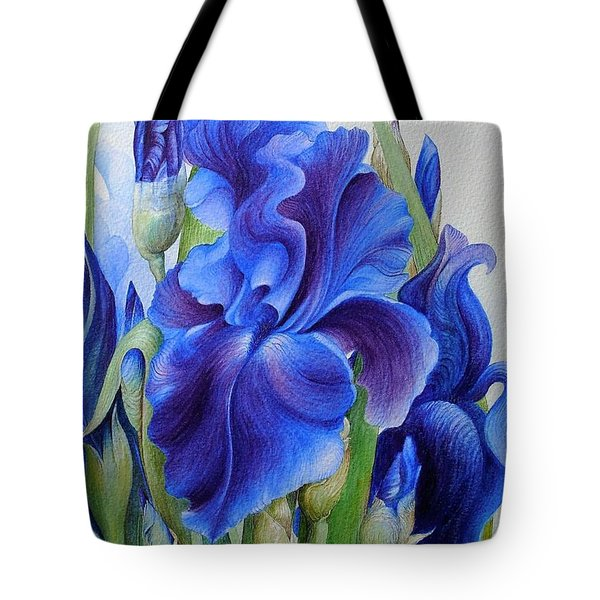 Blueberry Bliss Tote Bag