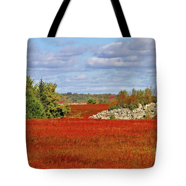 Blueberry Field Tote Bag