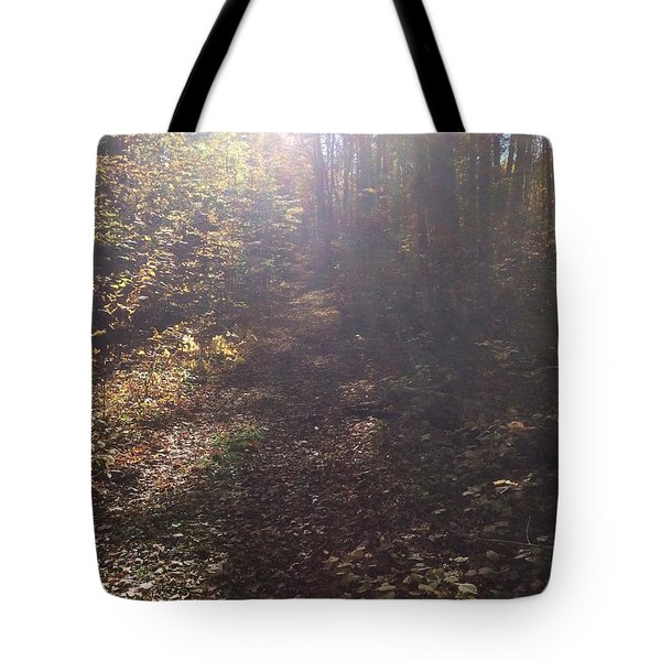Tote Bag featuring the photograph Blueberry Mountain by Pat Purdy
