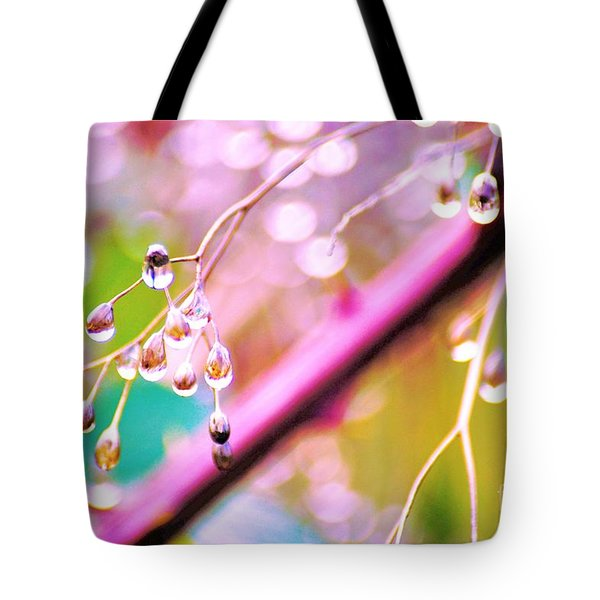 Blueberry Pearls Tote Bag
