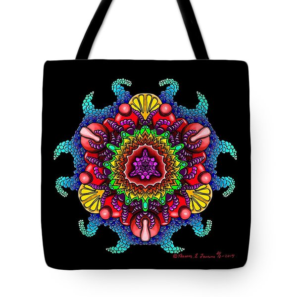 Blueberryflower Tote Bag