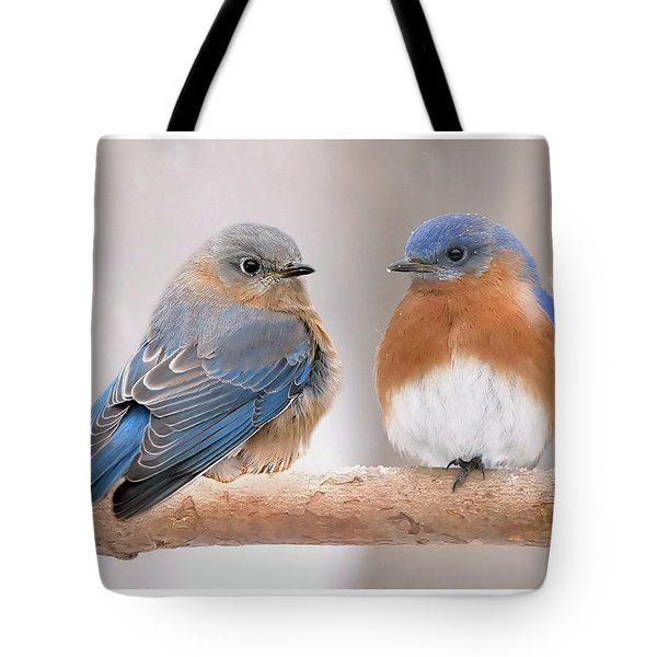 Bluebird Love Tote Bag