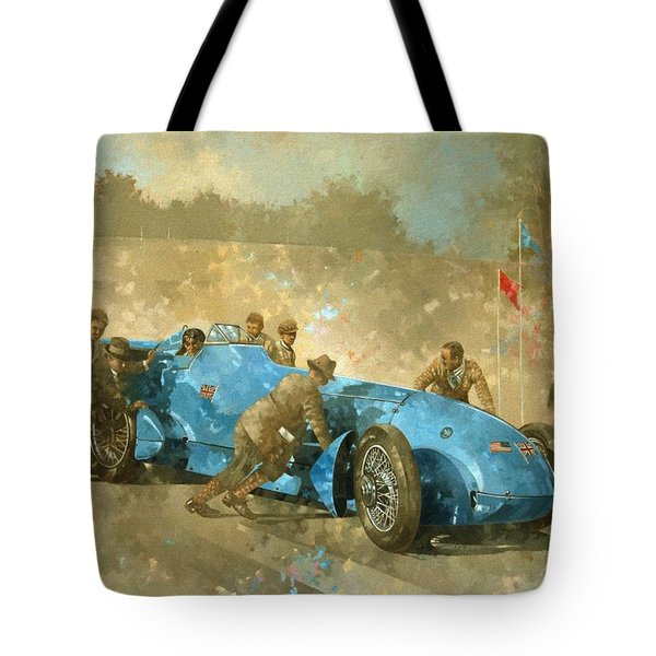Bluebird Tote Bag by Peter Miller