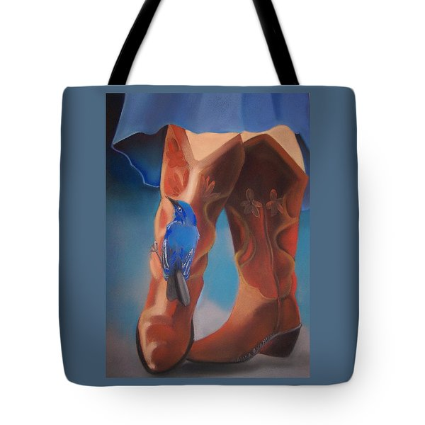 Bluebird Surprise Tote Bag
