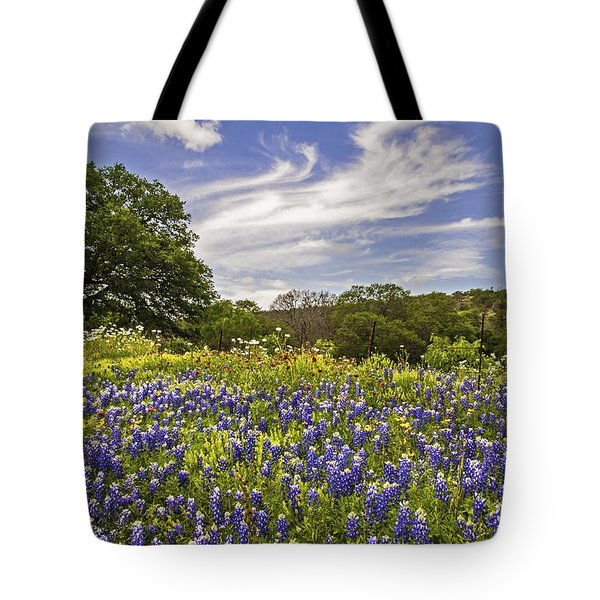 Bluebonnet Spring Tote Bag