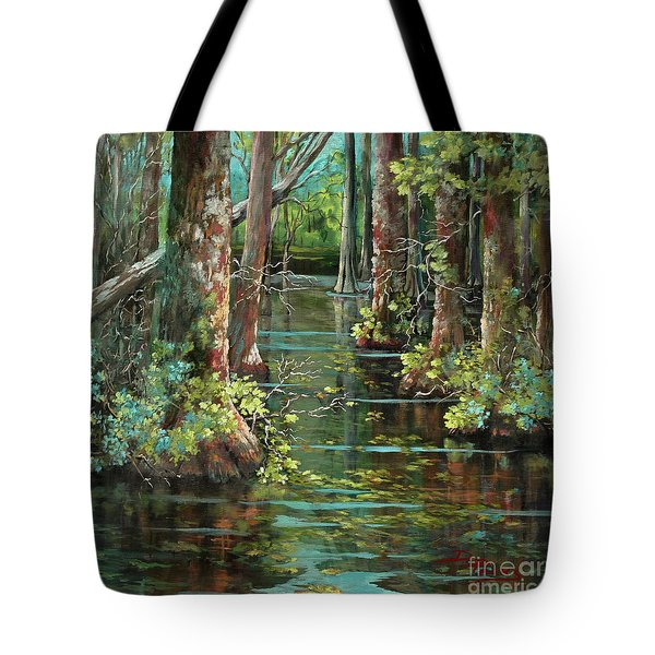 Bluebonnet Swamp Tote Bag