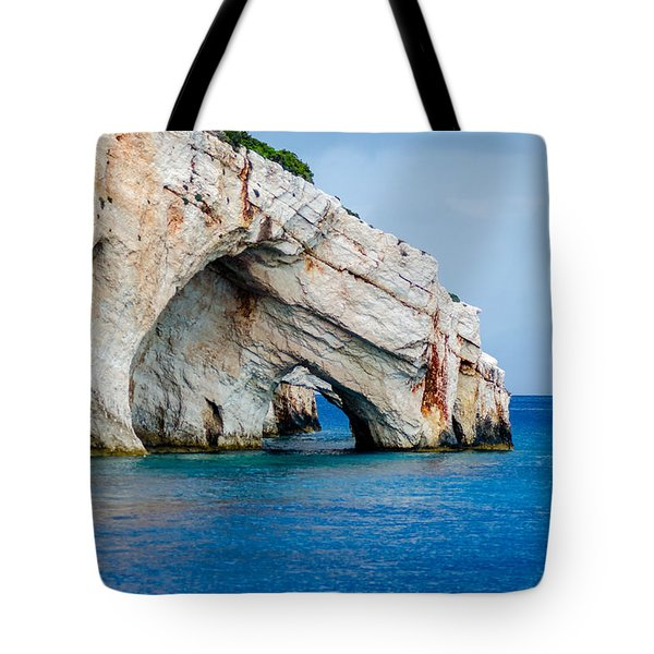 Bluecaves 3 Tote Bag