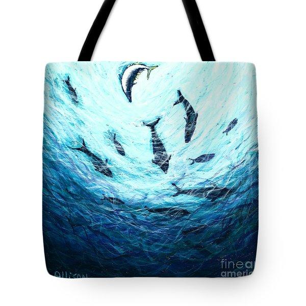 Bluefin Tuna Tote Bag