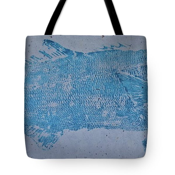 Bluefish - Chopper- Aligator Blue - Tote Bag