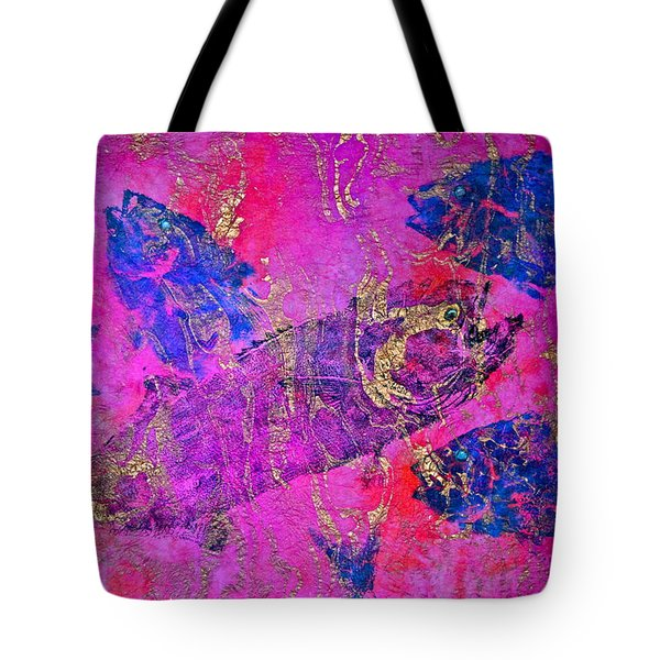 Bluefish Mascara - Maurada - Food Chain Tote Bag