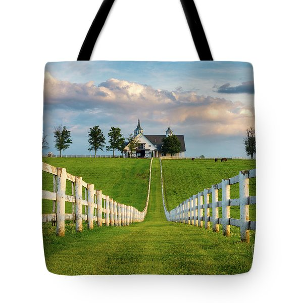 Bluegrass Barn Tote Bag