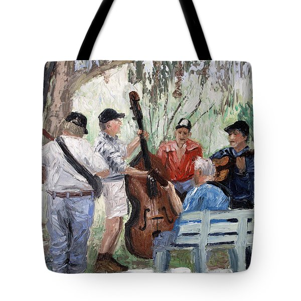 Bluegrass In The Park Tote Bag by Anthony Falbo