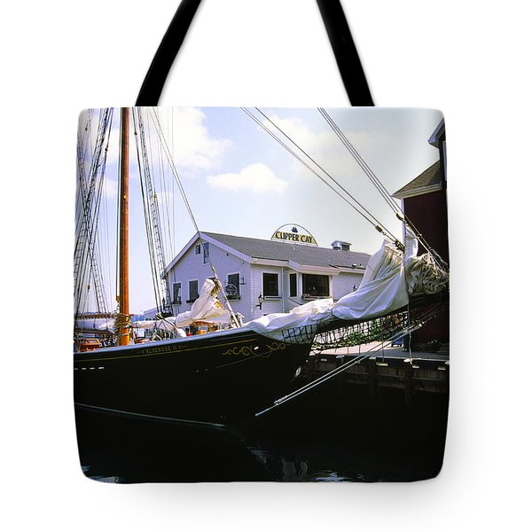 Bluenose II At Historic Properties Halifax Nova Scotia Tote Bag