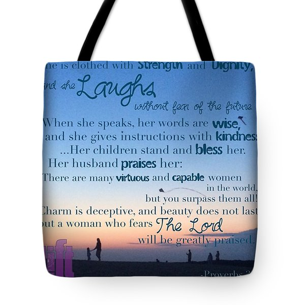 Blueprint For Life... Who Can Find A Tote Bag