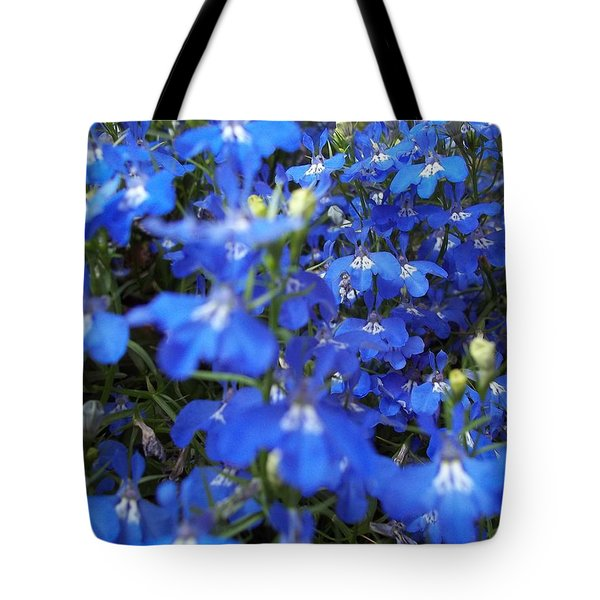 Bluer Than Blue Tote Bag