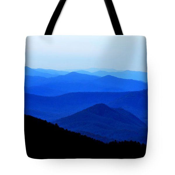 Blueridge Mountains - Parkway View Tote Bag