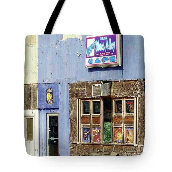 Blues Alley, Clarksdale Tote Bag