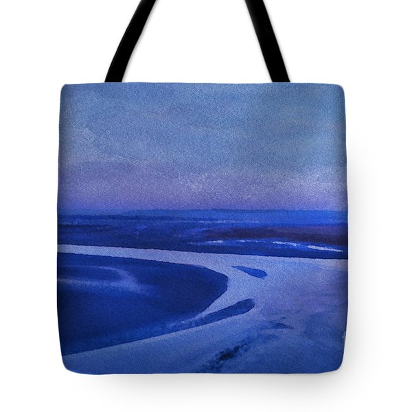 Blues At Mount St Michael Tote Bag