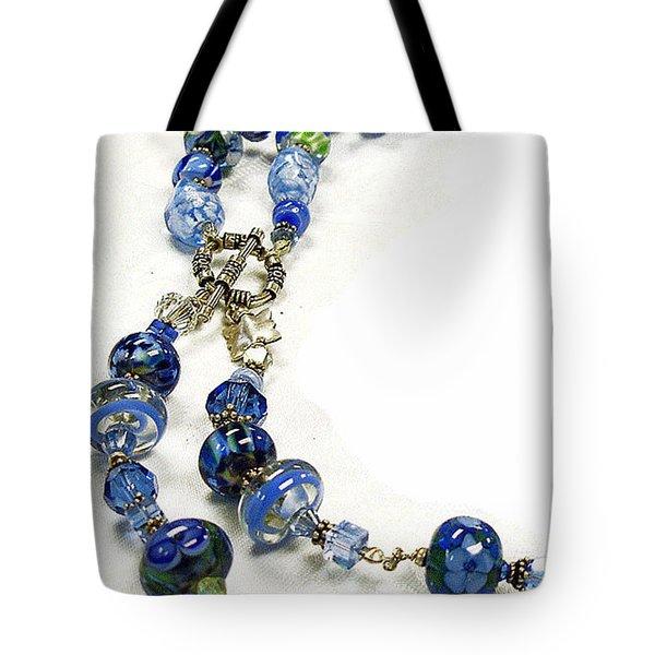 Blues Tote Bag by Barbara Berney