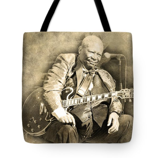 Tote Bag featuring the digital art Blues Boy by Anthony Murphy