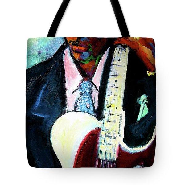 Blues Boy Tote Bag