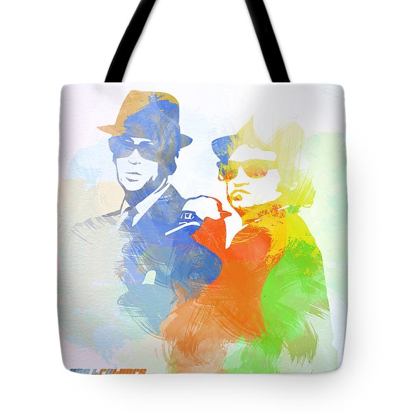 Blues Brothers Tote Bag by Naxart Studio