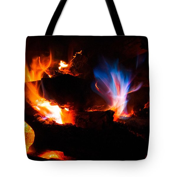 Blue's Dance Tote Bag by Christopher Holmes