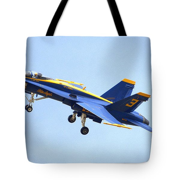 Blues Tote Bag by Jerry Cahill