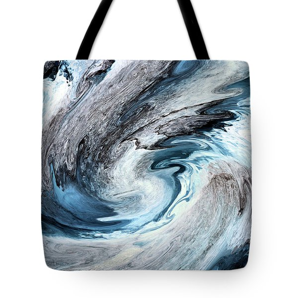 Tote Bag featuring the photograph Blues by Kristin Elmquist
