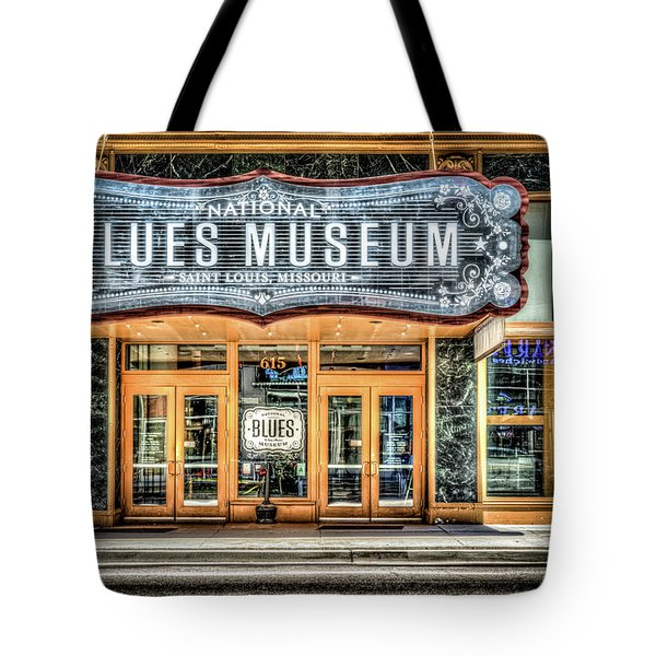 Blues Museum Tote Bag