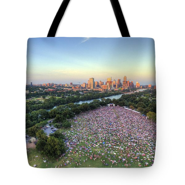 Blues On The Green With Bob Schneider Tote Bag