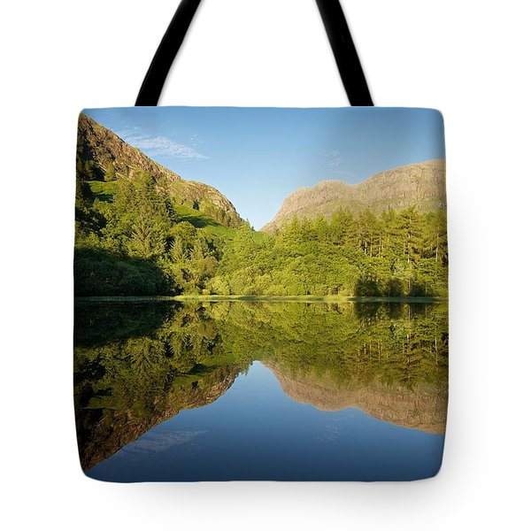 Blues Skies In Glencoe Tote Bag