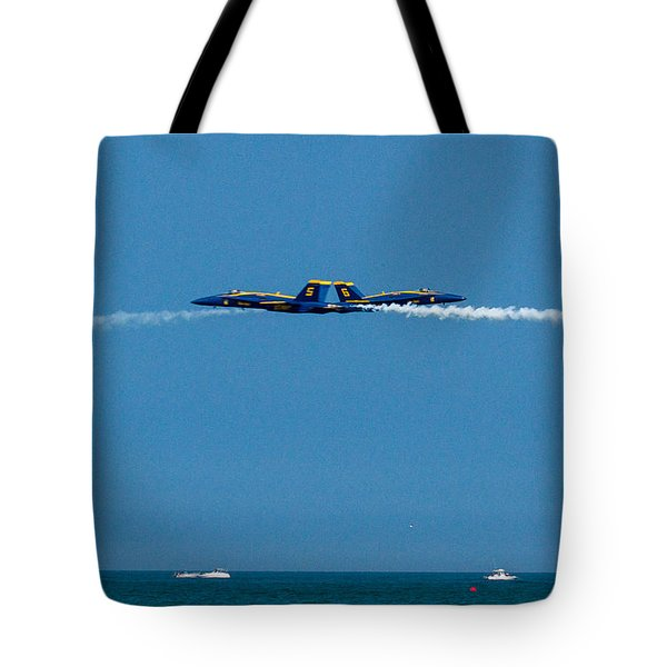 Blues Solo Pass Tote Bag by Allan Levin
