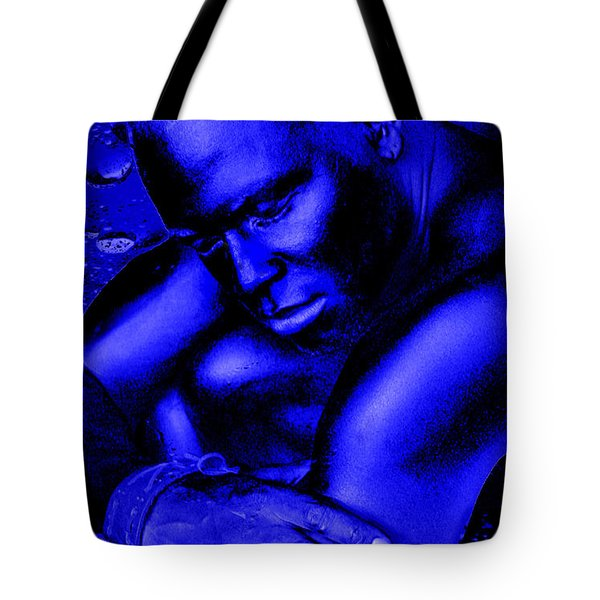 Blues Tote Bag by Tbone Oliver