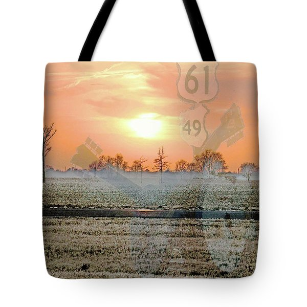Blues Trail Tote Bag
